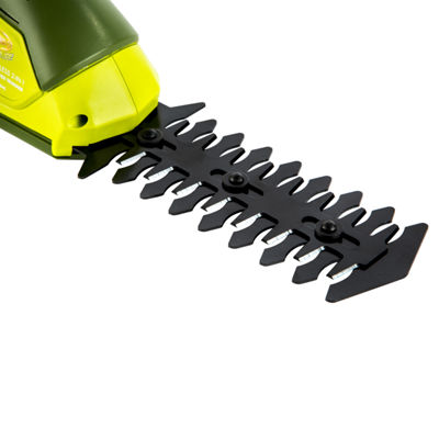 Sun Joe 7.2 V Cordless 2-In-1 Grass Shear + HedgeTrimmer