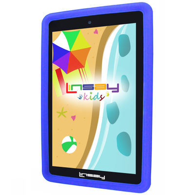 "LINSAY® 7"" KIDS FUNNY QUAD CORE TAB 1280x800 IPS Screen 8GB DUAL CAM with Kids Defender Protective Case"