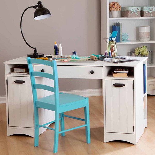 Artwork Craft Table with Storage