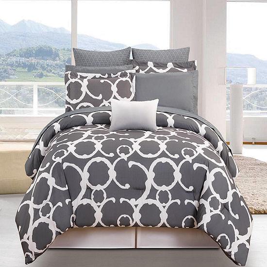 DUCK RIVER 10-pc. Rhys Hotel Comforter Set