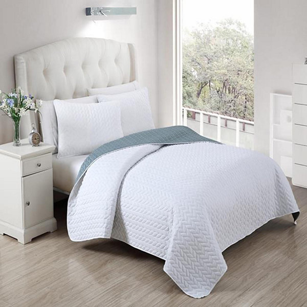 DUCK RIVER 3-pc. Mirai Reversible Coverlet Set