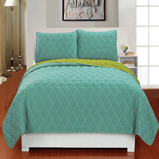 DUCK RIVER 3-pc. Mia Reversible Coverlet Set