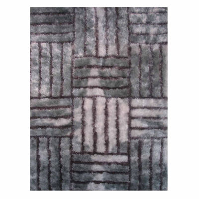 La Rugs Contempo Shaggy Vii Shag Rectangular Indoor Area Rug