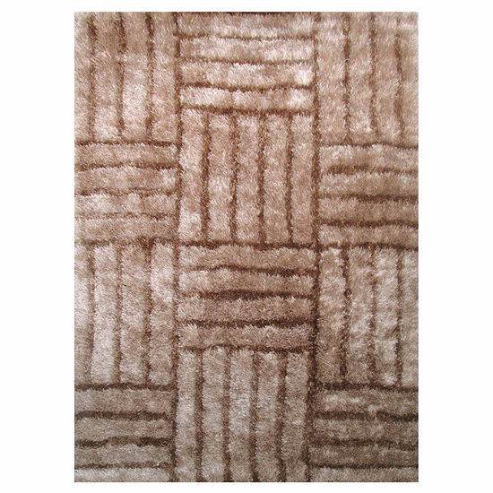 La Rugs Contempo Shaggy Xii Rectangular Indoor Rugs