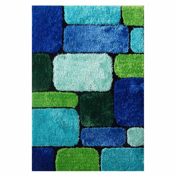 La Rugs Exotic Vii Shag Rectangular Rugs