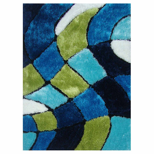 La Rugs Exotic Xi Shag Rectangular Rugs