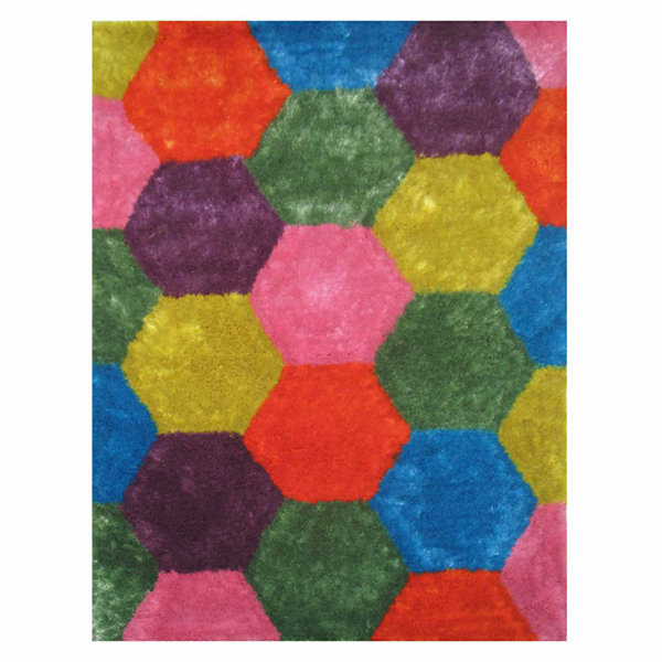 La Rugs Exotic Xvi Shag Rectangular Rugs