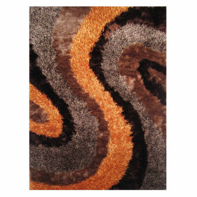 La Rugs Fantasy Shaggy Iii Shag Rectangular Indoor Rugs
