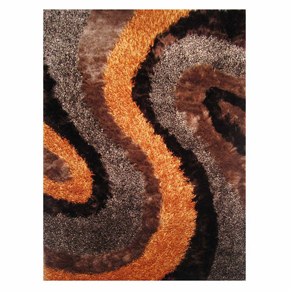 La Rugs Fantasy Shaggy Iii Shag Rectangular Rugs