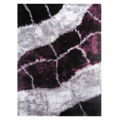 La Rugs Fantasy Shaggy Iv Shag Rectangular Indoor Rugs