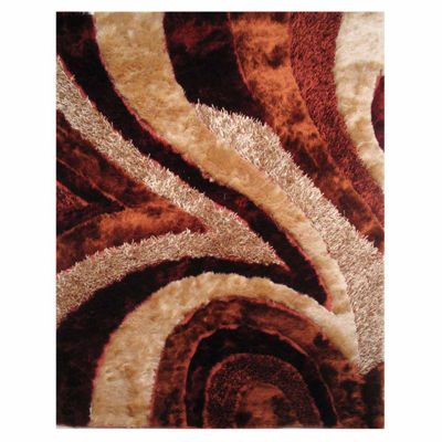 La Rugs Fantasy Shaggy Vi Shag Rectangular Indoor Area Rug