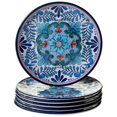 Certified International Talavera 6-pc. Salad Plate