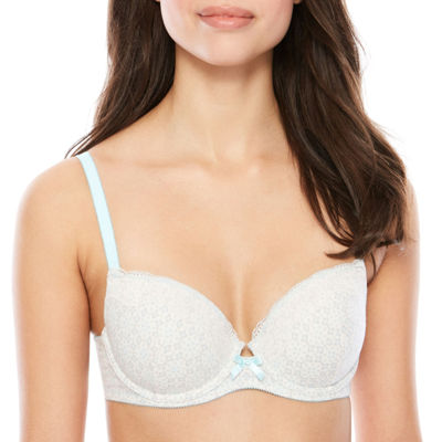 Ambrielle® Cotton Push-Up Bra