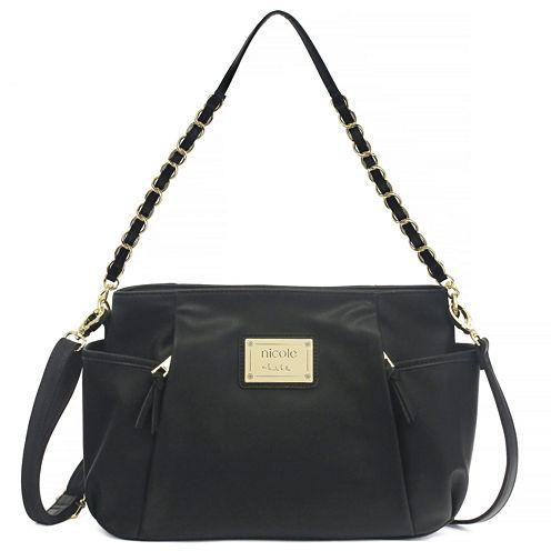 Nicole By Nicole Miller Suzie Large Shoulder Bag