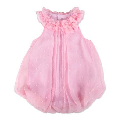 A D Sutton Bubble Sleeveless Romper - Baby