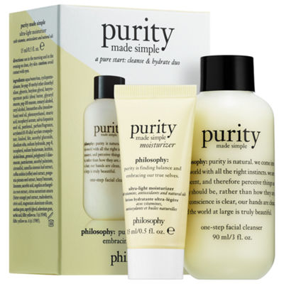 philosophy A Pure Start: Cleanse & Hydrate Duo