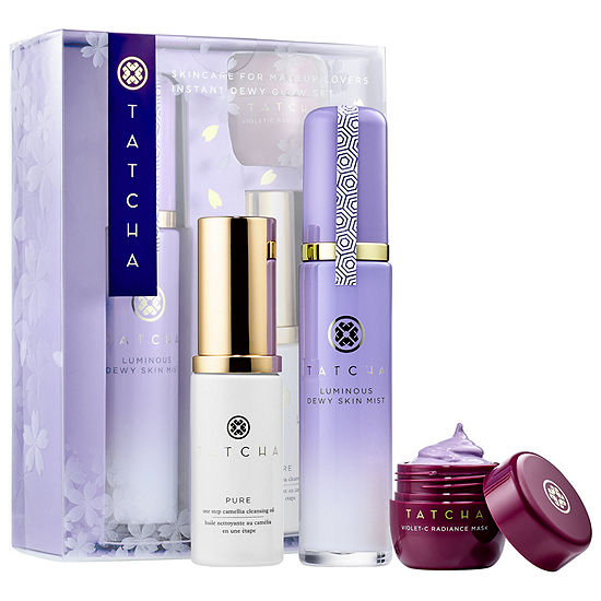 Tatcha Skincare For Makeup Lovers - Instant Dewy Glow Set