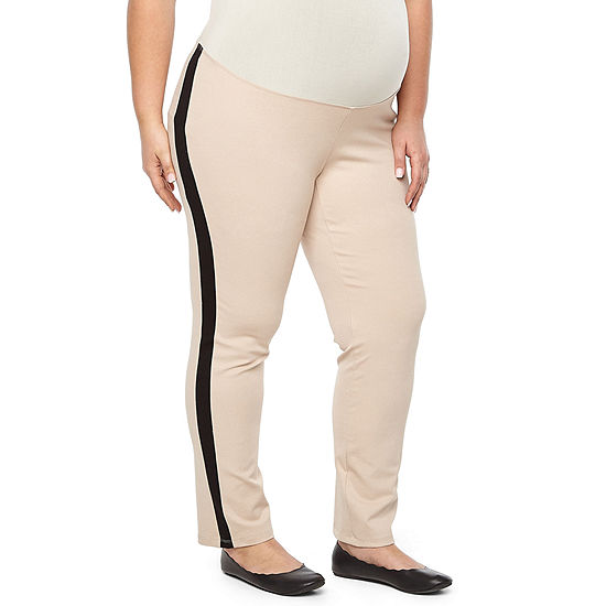 Planet Motherhood Ponte Pant - Plus Maternity