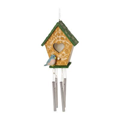 Precious Moments  Decorative Birdhouse Wind ChimeHome Décor