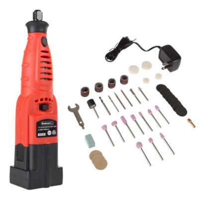 Stalwart 7.2V Rotary Tool Kit - 40 Piece