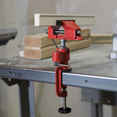 Stalwart 2.25 in. Jaw 360 Degree Swivel Table Vise