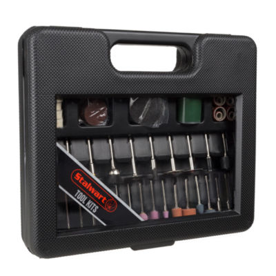 Stalwart Rotary Tool Attachment Kit - 100 Piece