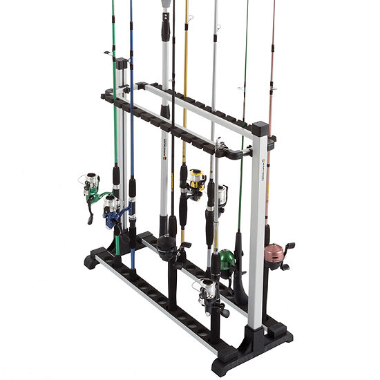 Wakeman Fishing Rack Aluminum Holder - 24 Rods