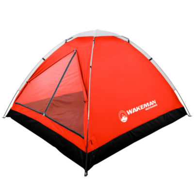 Wakeman Red 2 Person Dome Tent