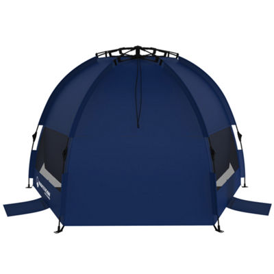 Wakeman Blue Pop-up Beach Tent and Sun Shelter