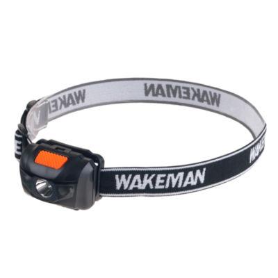 Wakeman Black 80 Lumen LED 4 Mode Headlamp