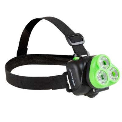 Wakeman Green 120 Lumen 3 LED Headlamp