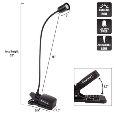 Stalwart Clip-on Worklight