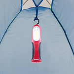 Stalwart Red 90 Lumen Magnet and Adjustable Hanging Hook with Stand Light