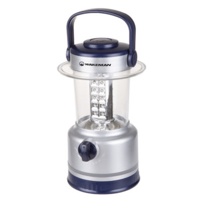 Wakeman Silver 120 Lumen 30 LED Lantern/Flashlight