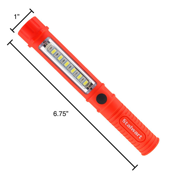 Stalwart 100 Lumen Multifunction Pocket Flashlight