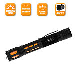 Stalwart Orange Aluminum 300 Lumen Water Resistant Flashlight