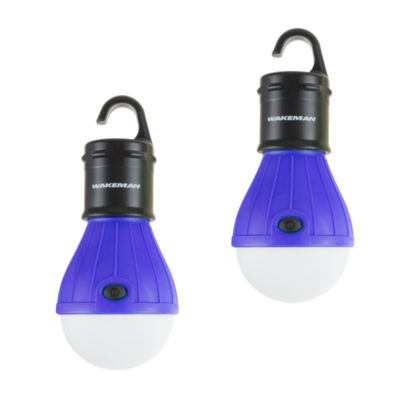 Wakeman Blue Portable LED Light Bulb - 2 Pack