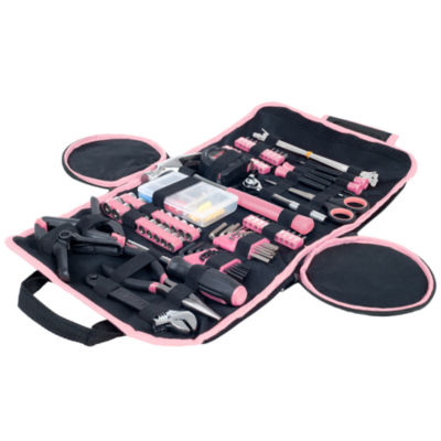 Stalwart Pink Household Hand Tool Set - 86 Piece
