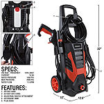 Stalwart 2000 PSI Electric Power Washer