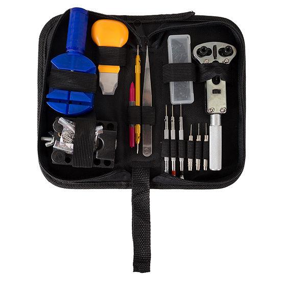 Stalwart Watch Repair Kit - 144 Piece