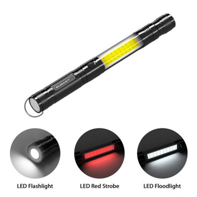 Stalwart Multifunctional Flashlight with Telescoping Magnet Pickup