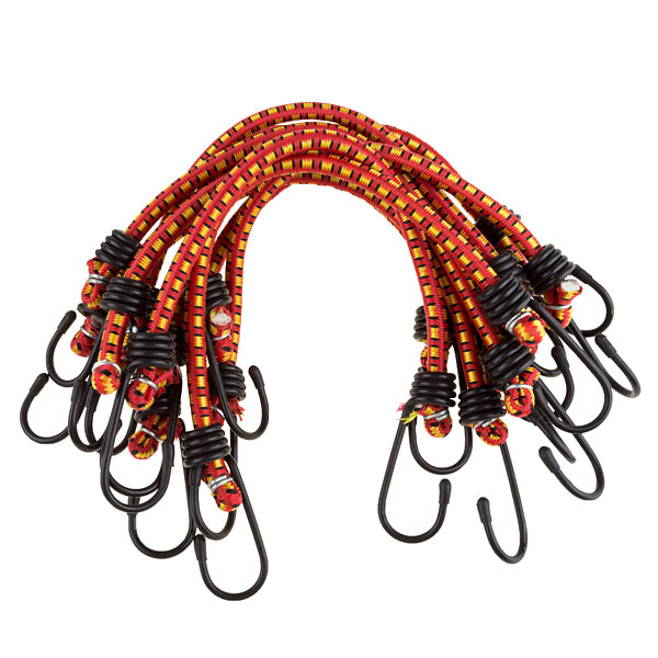 Stalwart 12 in. Bungee Cords - 10 Pack