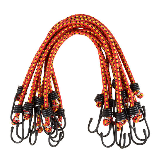 Stalwart 18 in. Bungee Cords - 10 Pack