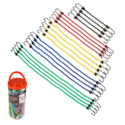 Stalwart Assorted Bungee Cords - 20 Piece