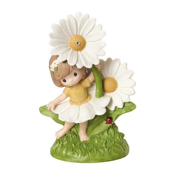 "Precious Moments  ""You Make Everyday Brighter"" Bisque Porcelain Figurine"