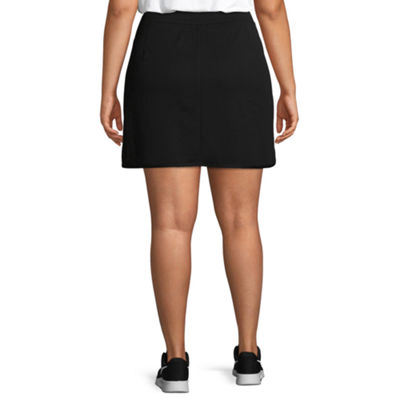 St. John's Bay Active Womens Mid Rise Skort-Plus