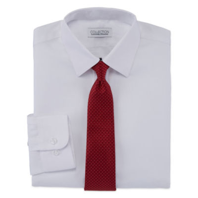 Collection By Michael Strahan Shirt + Tie Set - 8-20-Reg and Husky