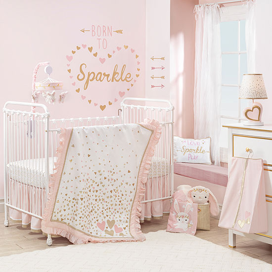 Lambs & Ivy Confetti 4-pc. Crib Bedding Set