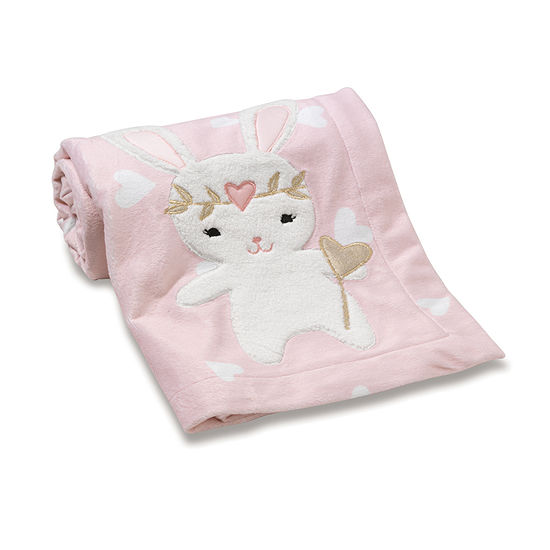 Lambs & Ivy Confetti Hearts Blanket - Girls