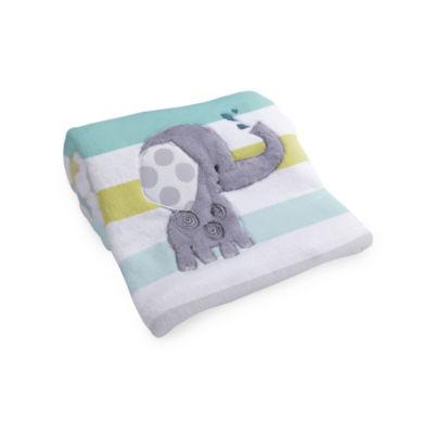 Lambs & Ivy Yoo Hoo Striped Blanket - Unisex